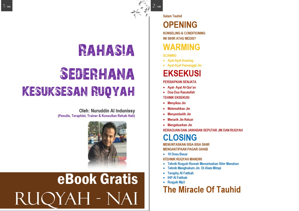 Rahasia Sederhana Kesuksesan Ruqyah | eBook Part 5 – Rehab Hati