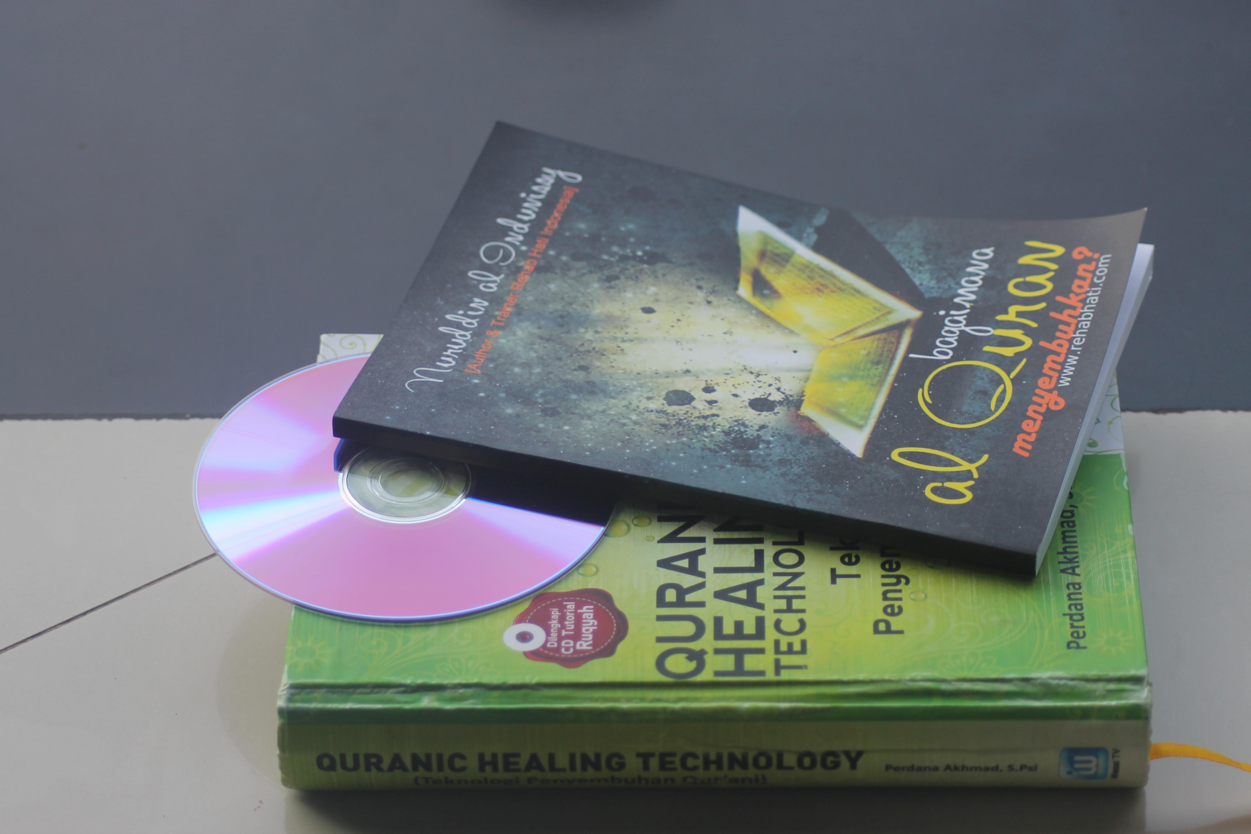 DVD & BUKU RUQYAH