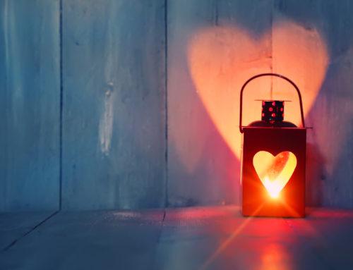 Hati yang dipenuhi cahaya