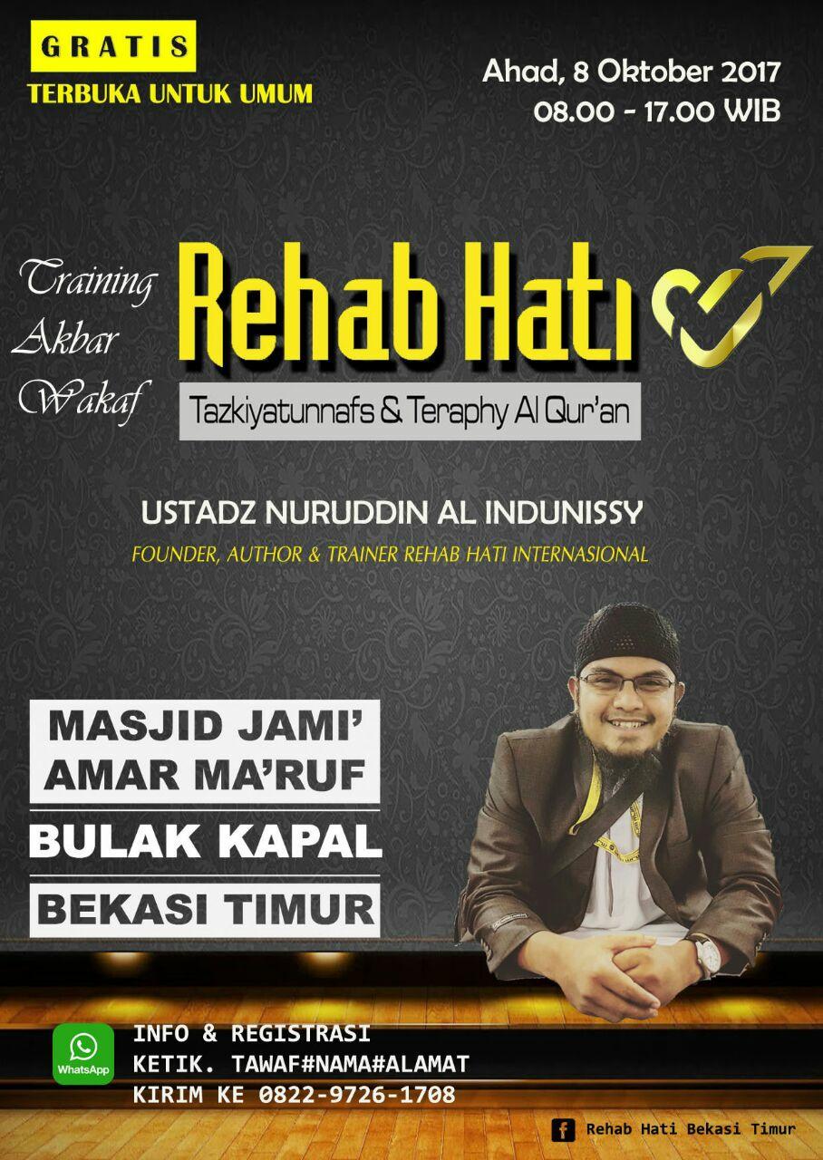 Pelatihan RehabHati Jakarta Bekasi