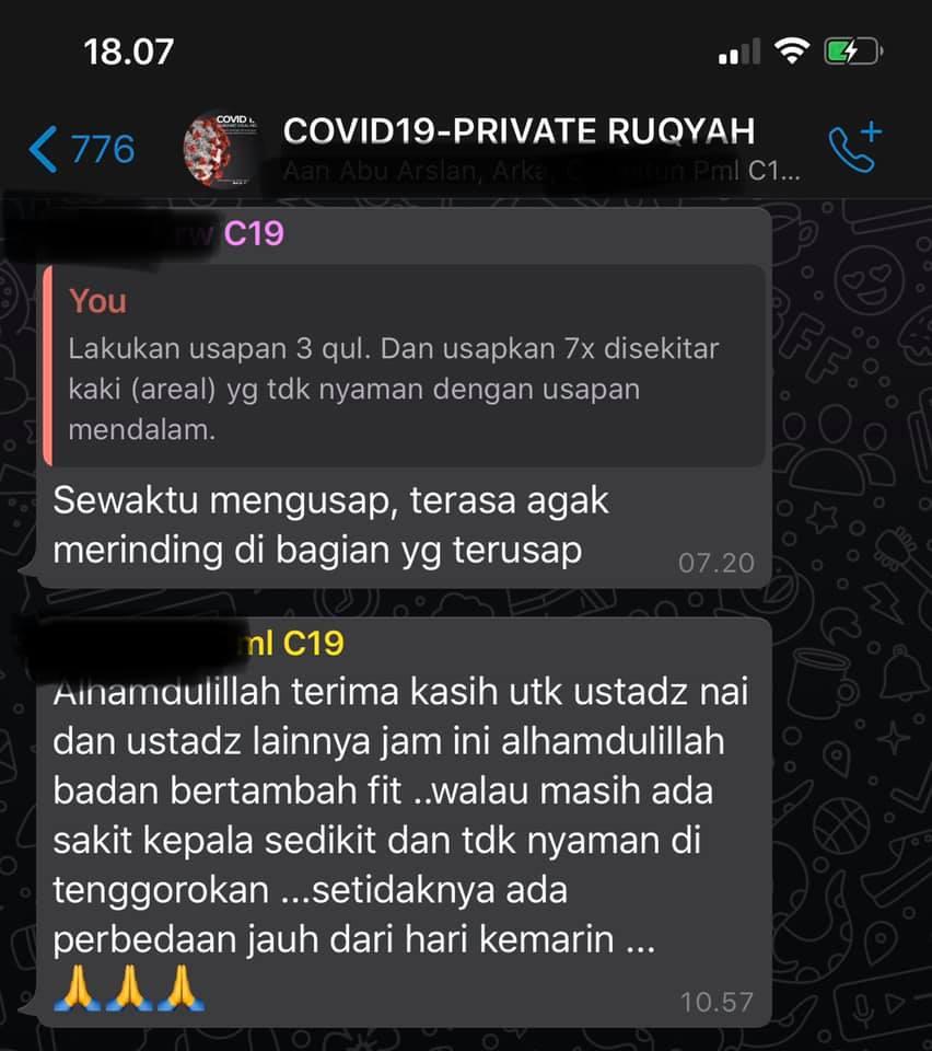 CATATAN RUQYAH COVID19